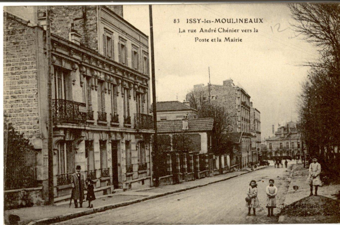 Les Rues Dissy Issy Les Moulineaux